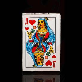 Карты игральные Дама 36 шт., Атласные, 120 кол./ящ(Карты_36игра)