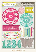 Чипборды My Mind's Eye - Collectable - Memorable - Perfect Chipboard Stickers, CTB138