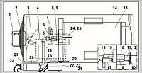 Запасные части для газового воздухонагревателя Ermaf GP 95