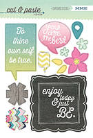 Чипборды My Mind's Eye - Cut and Paste - Adorbs Be Chipboard Stickers, CP1023