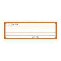 Карточка для журналинга My Mind's Eye - Cut and Paste - Charm - Sweet Journal Card, CP1034