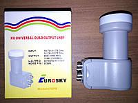 Спутниковый конвертер Eurosky Quad(4) UQP5