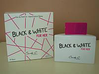 Парфюмированная вода для женщин Black & White 90 ml