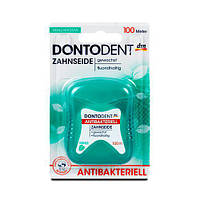 Dontodent Zahnseide Аntibakteriell Зубная нитка 100 м