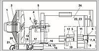 Запасные части для газового воздухонагревателя Ermaf GP 120