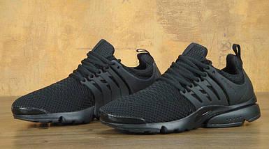 Мужские кроссовки Nike Air Presto.Черные,текстиль, фото 3