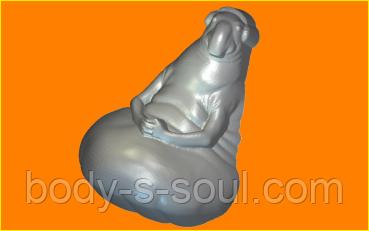 Пластиковая форма для мыла ждун