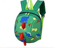 """Детский рюкзак """"Дракоша"""" зеленый"""