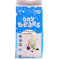 Dry Bears Slim&Cool Подгузники 4 maxi (7-18 кг),44 шт