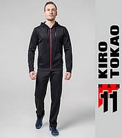 Kiro Tokao 572 | Мужской костюм для спорта черный-красный