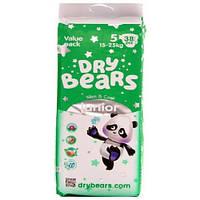 Dry Bears Slim&Cool Подгузники 5 Junior (15-25 кг),38 шт