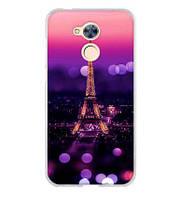 Оригинальный чехол накладка для Huawei Honor 6A с картинкой Париж ночью