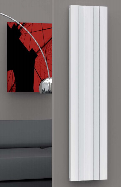 Дизайнерский радиатор Ondulato Al-Tech, фото 1