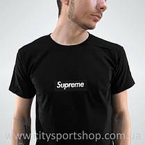 Футболка Supreme box logo. Черная мужская. Реальные фотки. Все размеры Качество, фото 2
