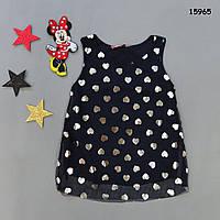 Летнее платье-туника для девочки. 1 год, фото 1