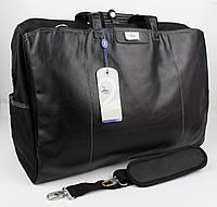 Дорожная сумка, саквояж Refiand 88723 черный гладкий, фото 1