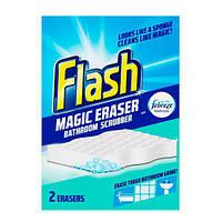 Flash Magic Eraser Губка для уборки в ванной комнате 2 шт