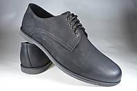 Мужские мужские туфли кожаные faber 118020.1 черные   весенние , фото 1