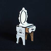 Кукольная мебель BigEcoToys Трюмо 17611