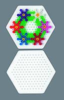 """Поле Hama для MIDI 5+ """"Малый шестиугольник"""" 169 колышек 223"""
