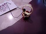 Красивое кольцо жеода агата в позолоте. Кольцо с жеодой агата 18 размер Индия!, фото 8