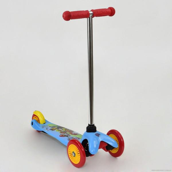 Самокат скутер 3х колесный Щенячий Патруль колёса PVC ТК 10001