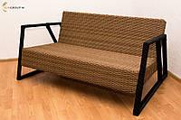 """Диван """"Lobby"""" из искусственного ротанга, садовая и уличная мебель"""