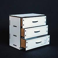 Кукольная мебель BigEcoToys Комод 17610