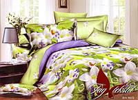 Комплект постельного белья XHY672 евро (TAG polycotton (evro)-390)