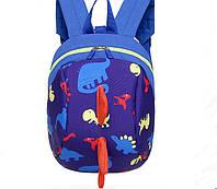 799c3b3bf43e Рюкзак детский дошкольный 3D ортопедический с героями Супер Крылья оригинал  синий УЦЕНКА. Детский рюкзак
