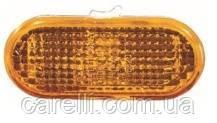 Указатель поворота на крыле Volkswagen Amarok '10- левый/правый, желтый (рифленый) (DEPO)