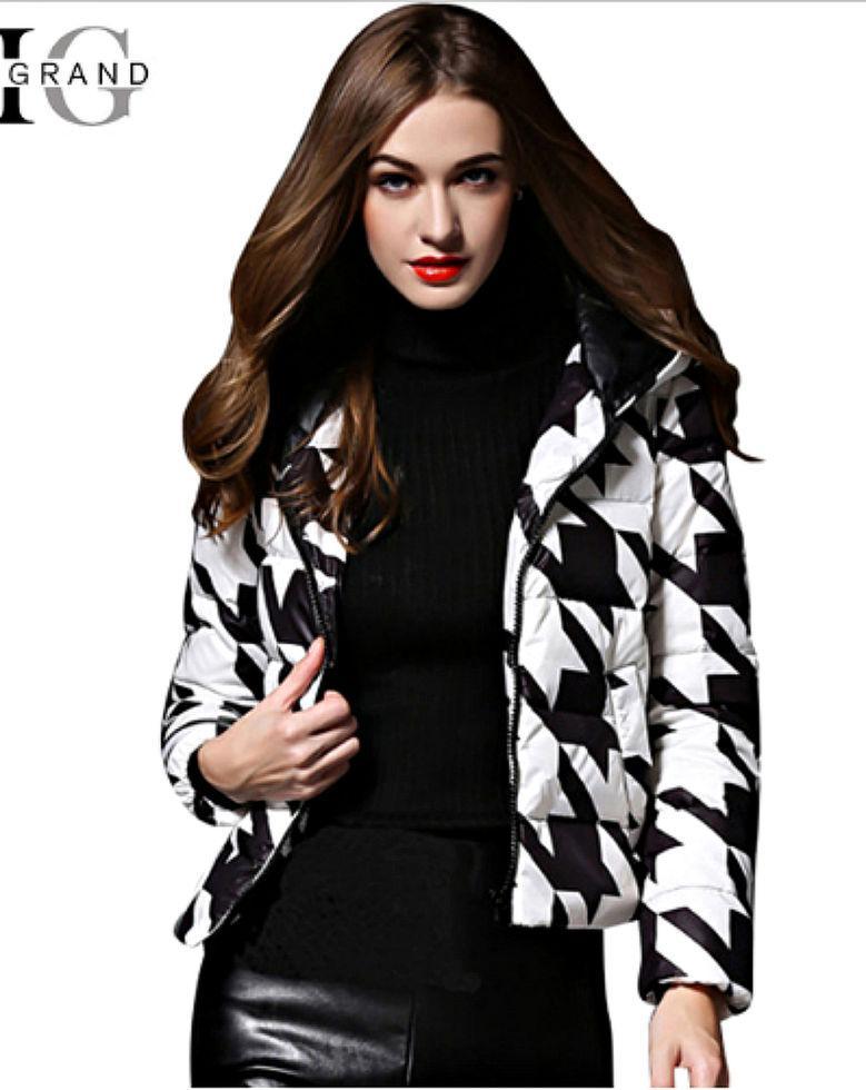 Пуховая куртка на утином пуху для женщин.