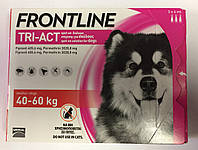 Frontline TRI-ACT (Фронтлайн) для собак, XL (40-60кг)