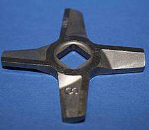 Нож двухсторонний для мясорубки Zelmer NR8 86.3109 10003883 (ZMMA028X) Original, фото 2