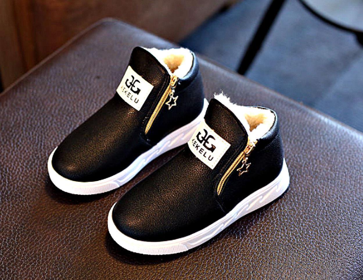 Австралийские модные, утепленные, зимние детская обувь-(Botas)