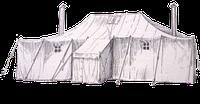 Палатка-цех для ПМХ. Палатка военная