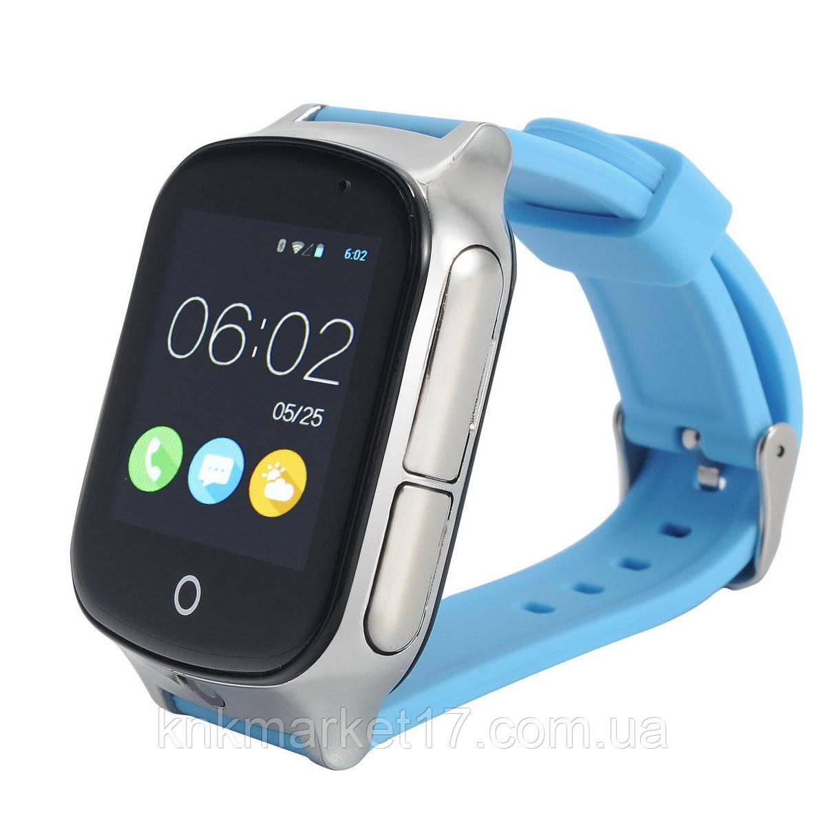 Smart watch A19 blue