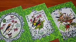 Полотенце Барокко, зеленый (45*60 см)