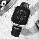 Smart watch A19 black(шкіра), фото 3