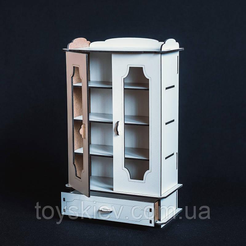 Кукольная мебель BigEcoToys Книжный шкаф 17642