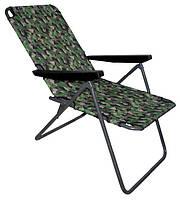 """Шезлонг - кресло раскладное """" Эко """" для рыбалки и отдыха, на пляж"""