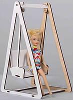 Кукольная мебель BigEcoToys Качели 1764