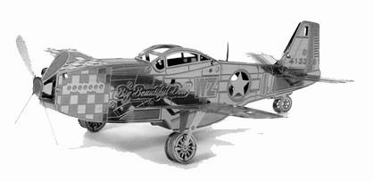 "Металлический конструктор ""P-51 Mustang"""