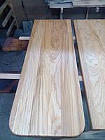Ступени деревянные ясень, 40мм, 1 сорт, доставка по Украине