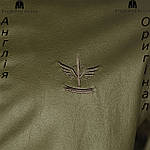 Куртка кожаная Firetrap весенняя зеленая , фото 3