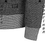 Кофта худи Firetrap флисовая серо-коричневая | Кофта худі Firetrap флісова сіро-коричнева, фото 3