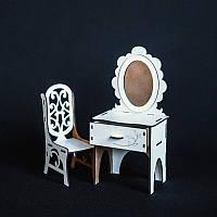 Мебель BigEcoToys Трюмо+стул 17635
