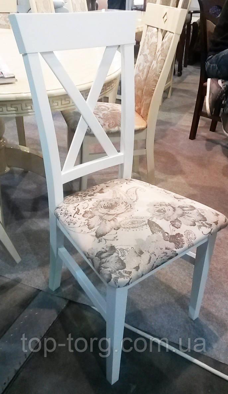 Стілець Каскад білий дерев'яний
