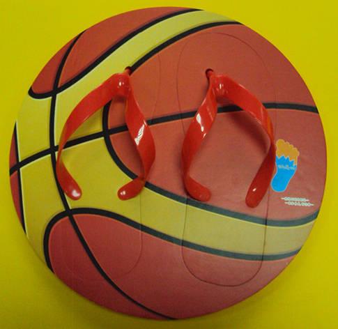 Тапки вьетнамки Баскетбольный Мяч (39 размер), фото 2