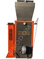Котел шахтного типа Магнум 12 кВт с дополнительным бункером